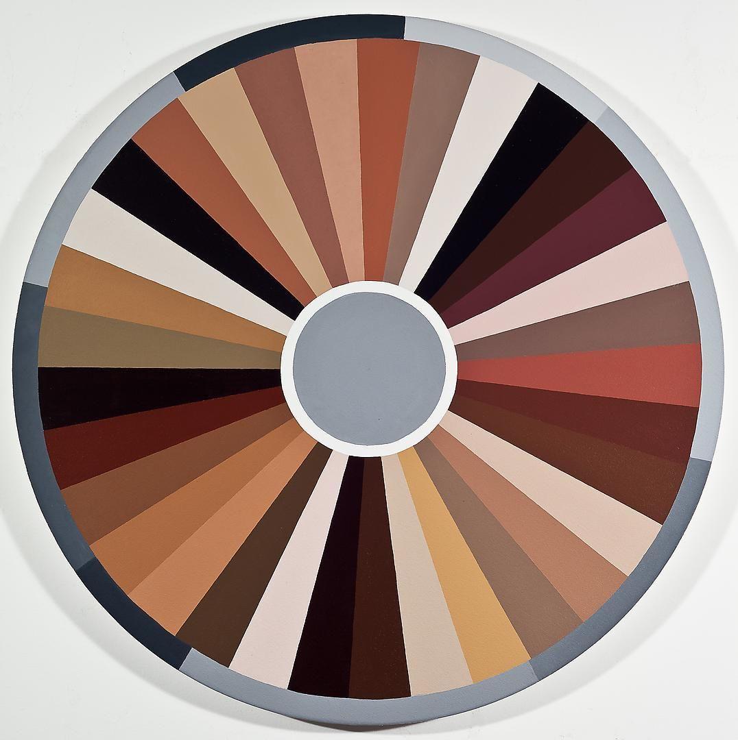 ADRIANA VAREJÃO Polvo Color Wheel I (Seascape Series), 2014