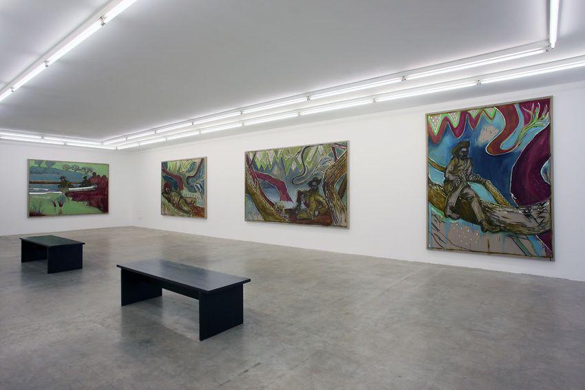 Installation view, Paintings Sweet Paintings, Neuer Aachener Kunstverein