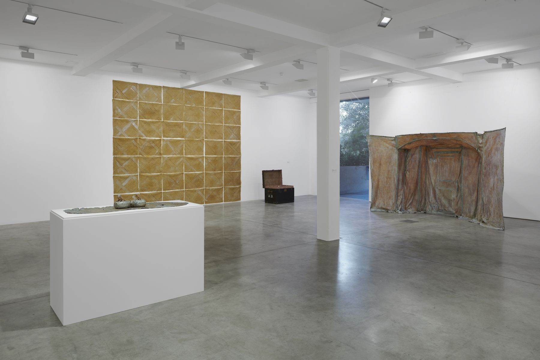 Heidi Bucher Installation view, Parasol unit foundation for contemporary art, London, UK