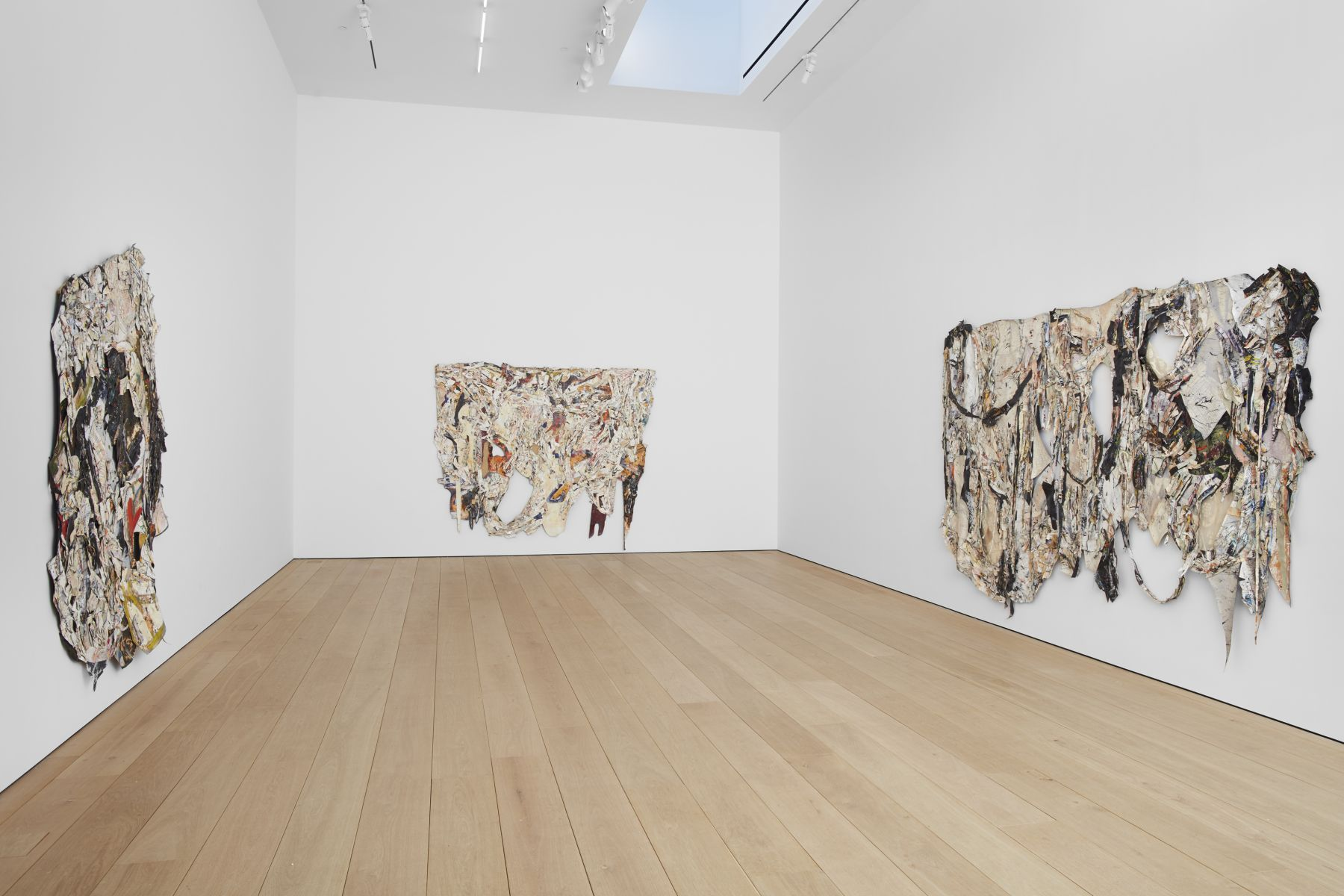 Angel Otero,Milagros, Installation view, Lehmann Maupin, 501West 24th Street, New York, 2019