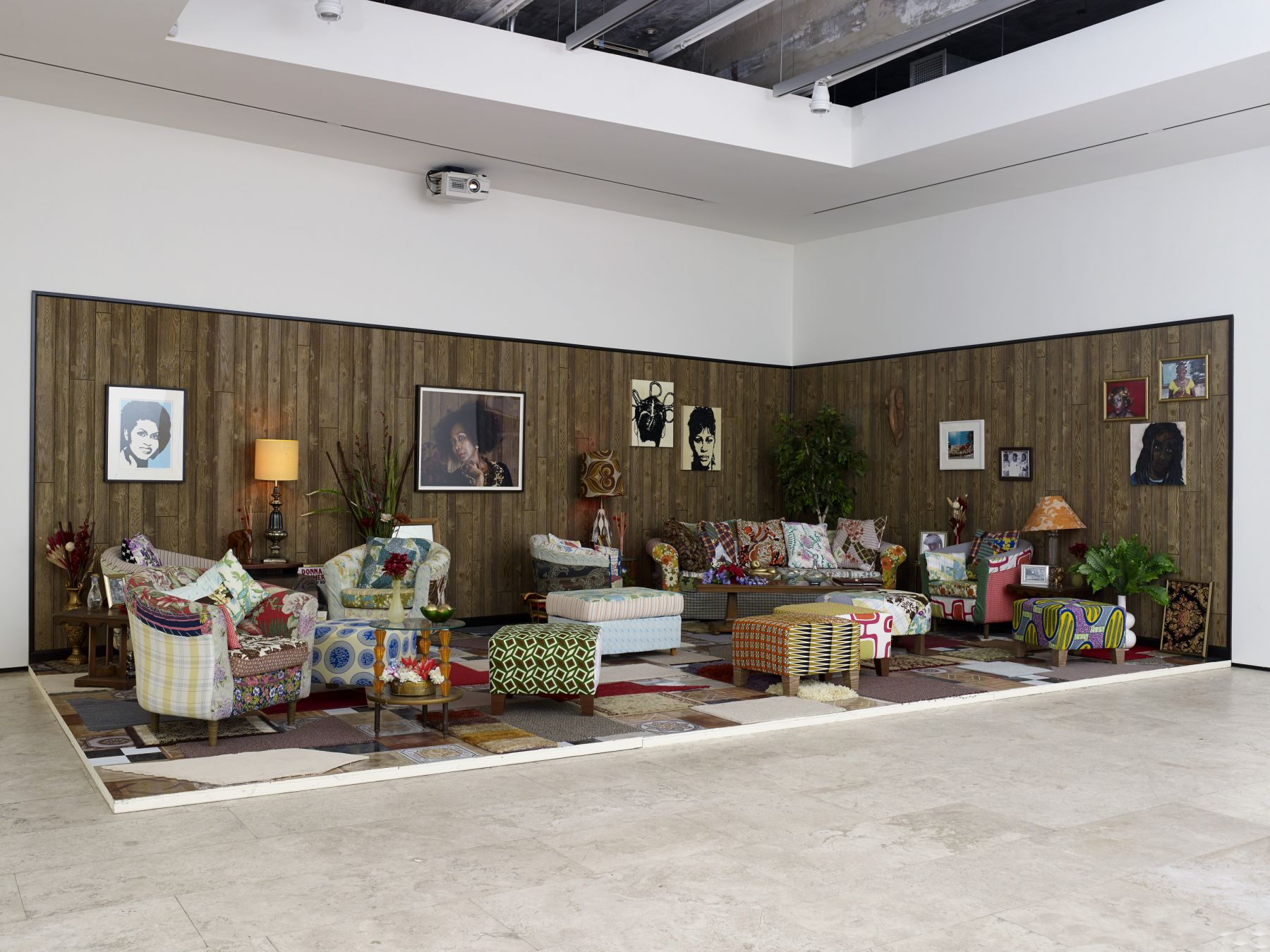 MICKALENE THOMAS: How to Organize a Room Around a Striking Piece of Art