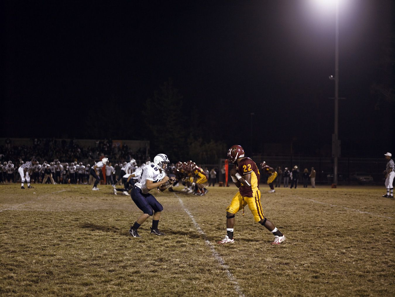 CATHERINE OPIE, Football Landscape #1 (Fairfax vs. Marshall, Los Angeles, CA), 2007