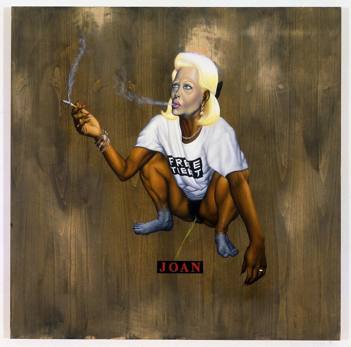 """阿什莉·æ¯""""å…‹é"""" Joan and the Cosmos, 1996"""