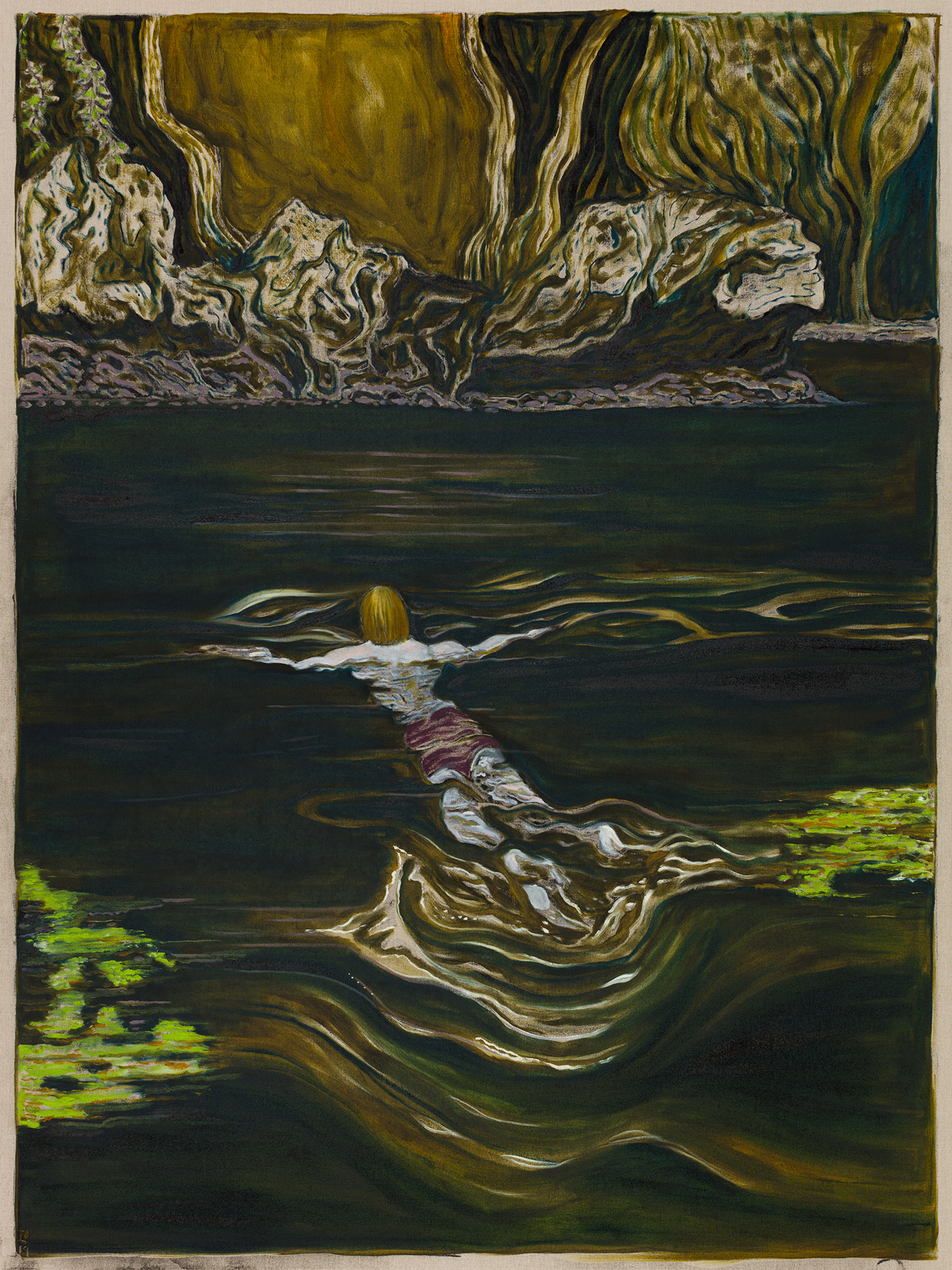 BILLY CHILDISH, toward a shore, 2019
