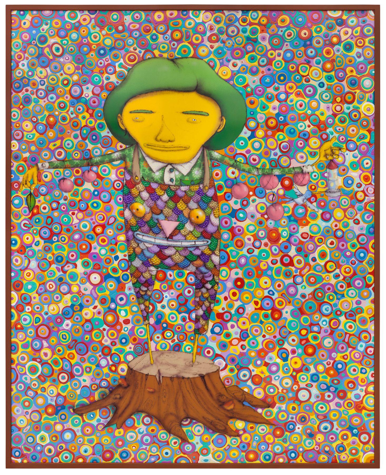 OSGEMEOS, Meu Pé de Laranja Lima (My Lima Orange Tree), 2016