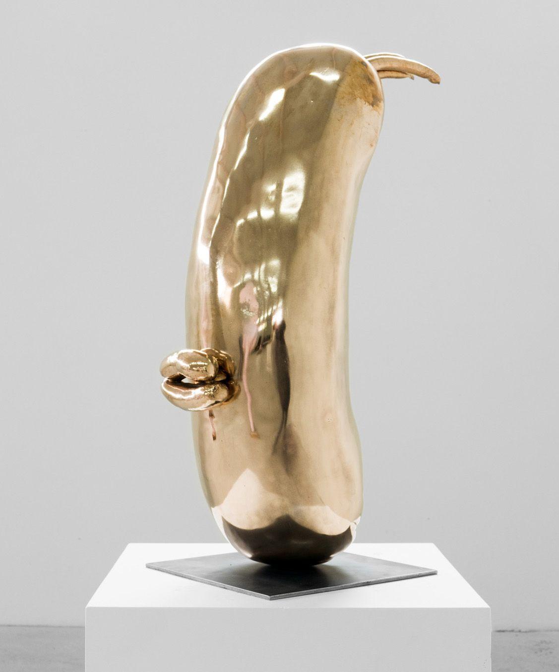 ERWIN WURM, Head (Lips), 2014
