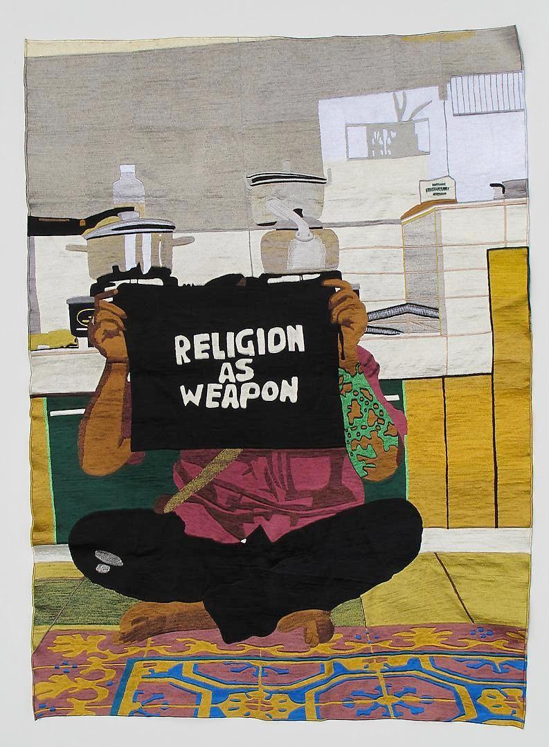 EKO NUGROHO The World Words series (Religion as Weapon), 2012
