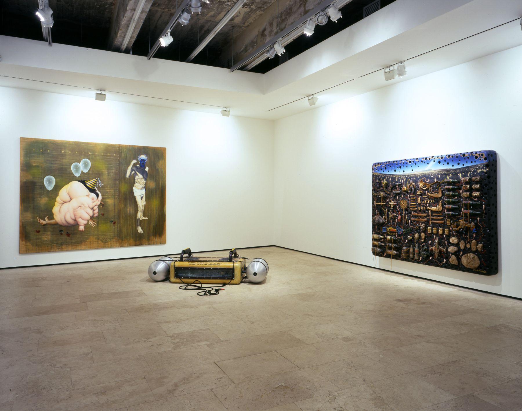 """阿什莉·æ¯""""å…‹é"""" 裝置視圖 紐約立木畫廊"""