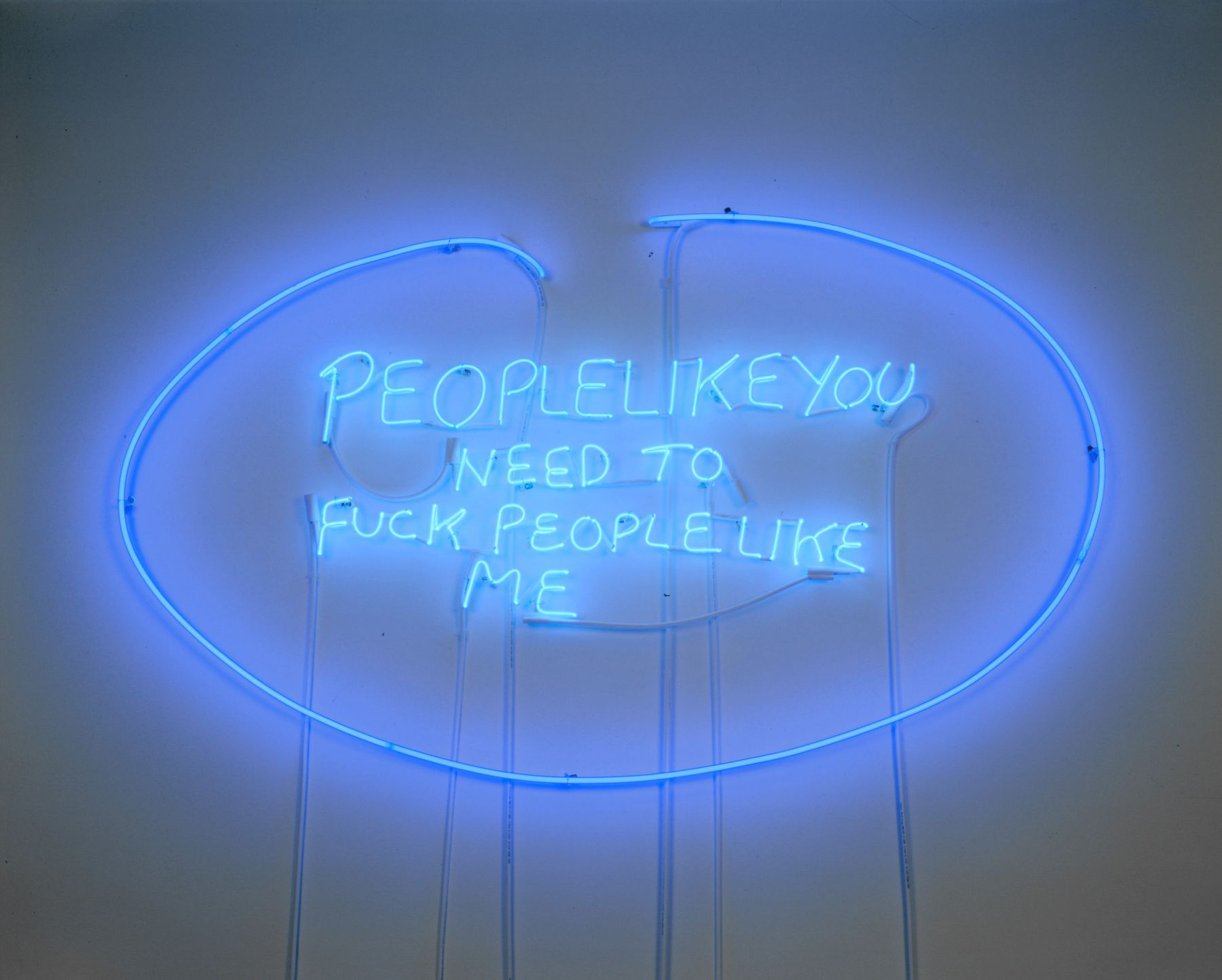 TRACEY EMIN, People Like You Need to Fuck People Like Me, 2002