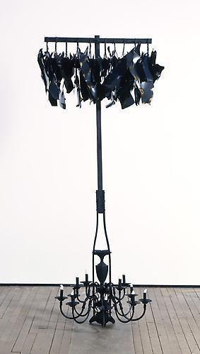 NARI WARD Hanging Lights; Cotton Flames, 2010