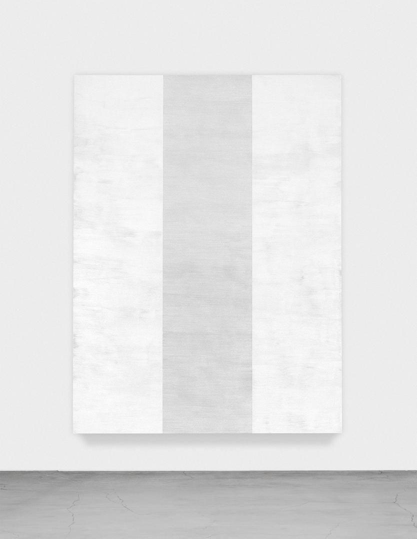 MARY CORSE Untitled (White Inner Band, Beveled), 2011