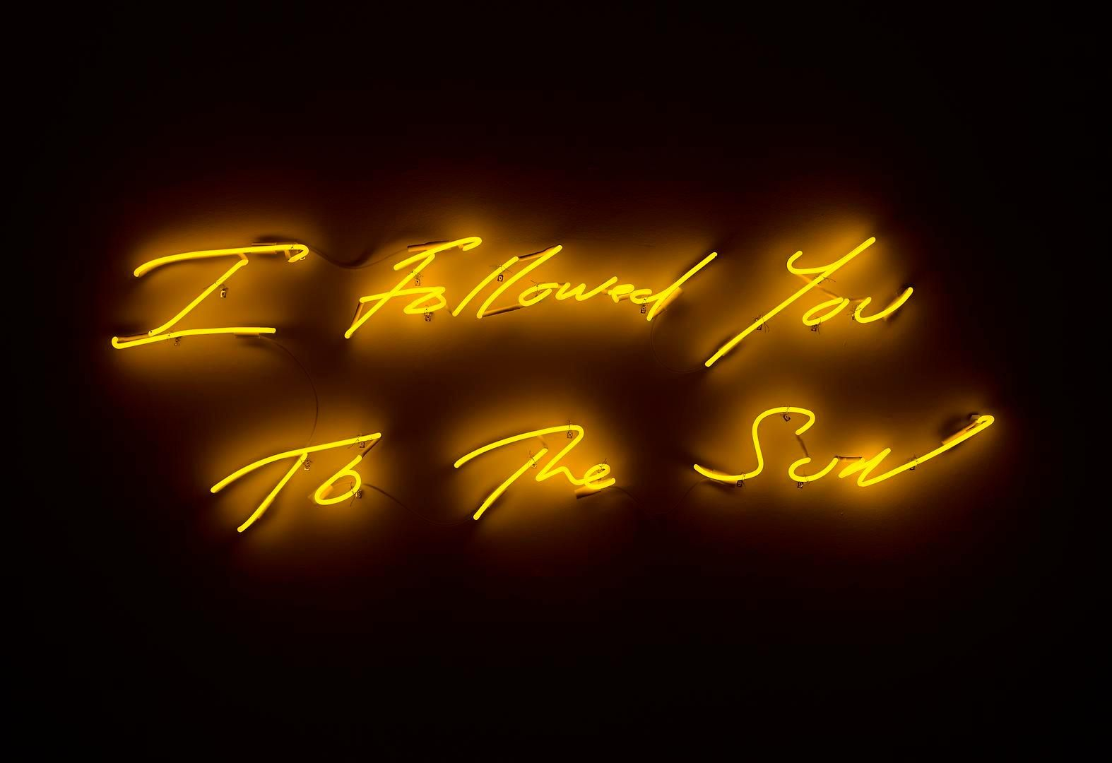 TRACEY EMIN I Followed You to The Sun, 2013