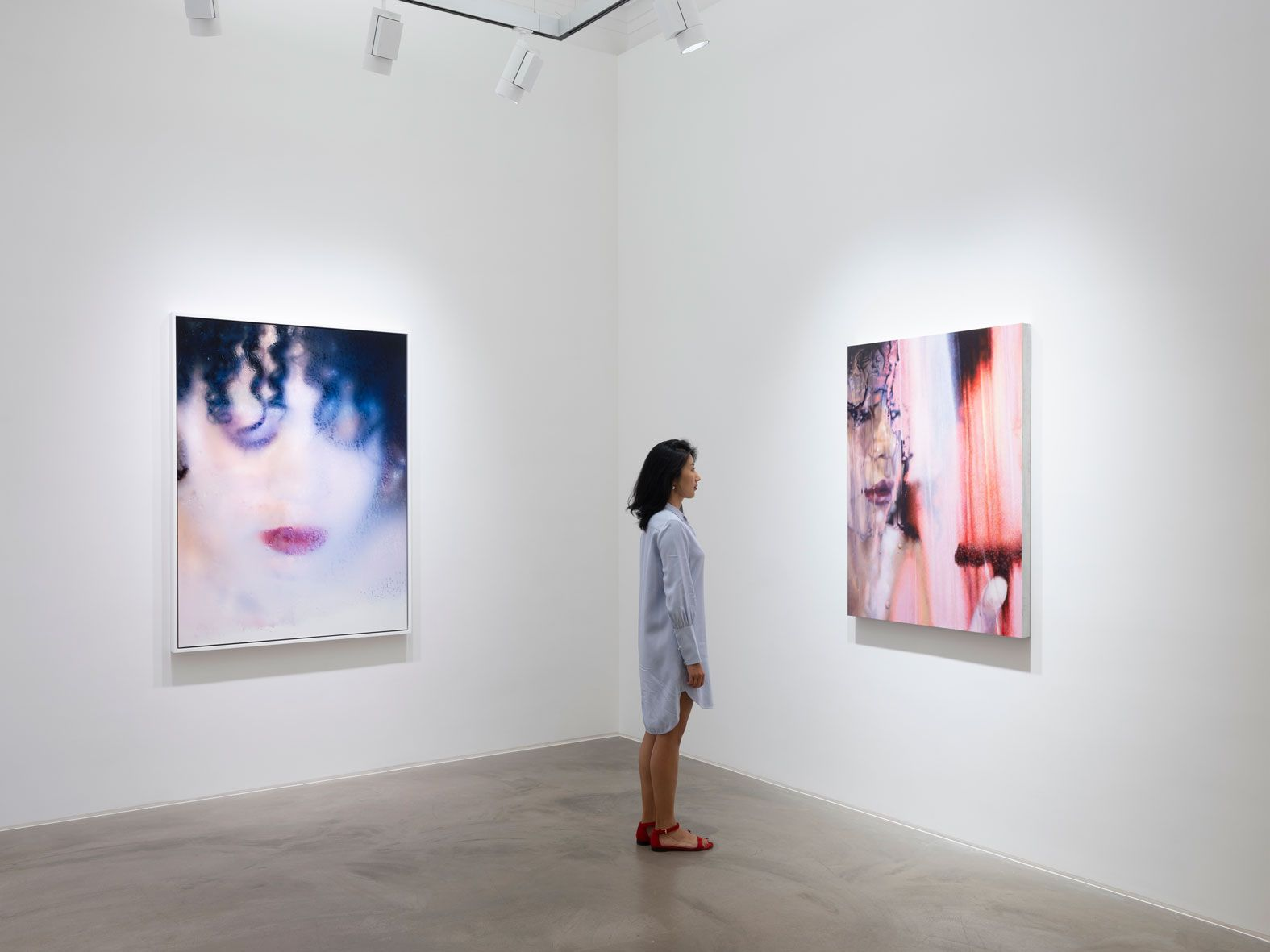 MARILYN MINTER, Installation view