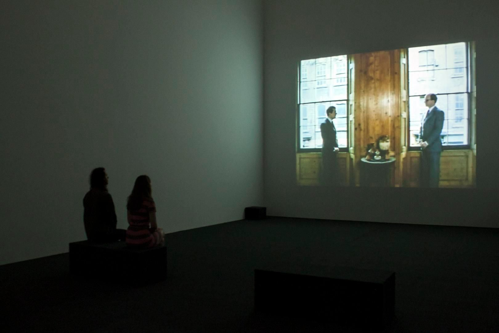 Gilbert & George Films and Video Sculptures, 1972-1981 Installation view 2