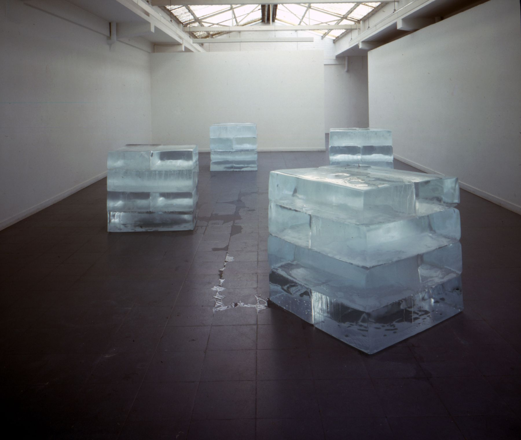 absolute, 1996, Four cubes of ice