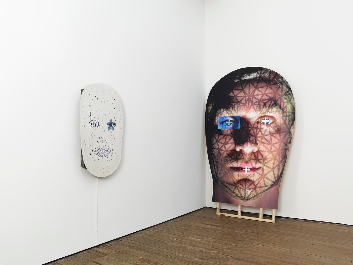 Tony Oursler Installation view 3