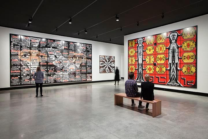 Gilbert & George: The Art Exhibition, at the Museum of Old and New Art,