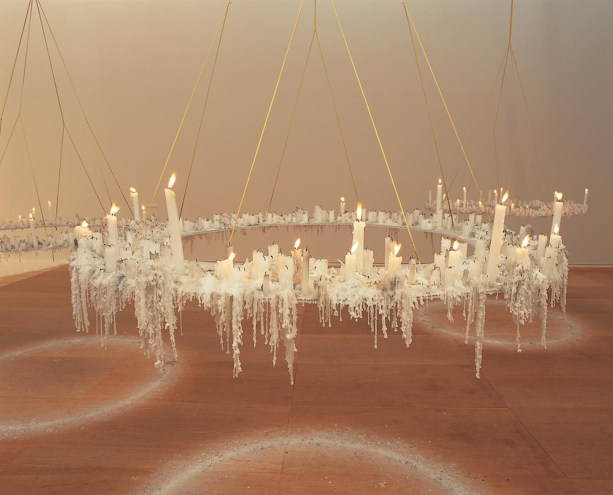 aspire, 1999(detail), Installation view at TOCAG, Tokyo, Japan