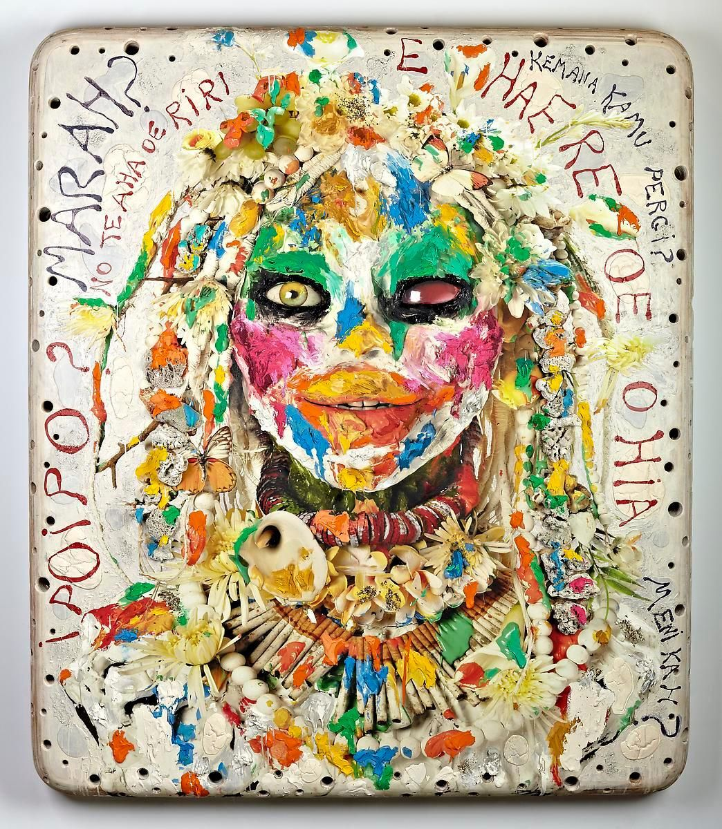 """阿什莉·æ¯""""å…‹é"""" White Head II, 2012"""