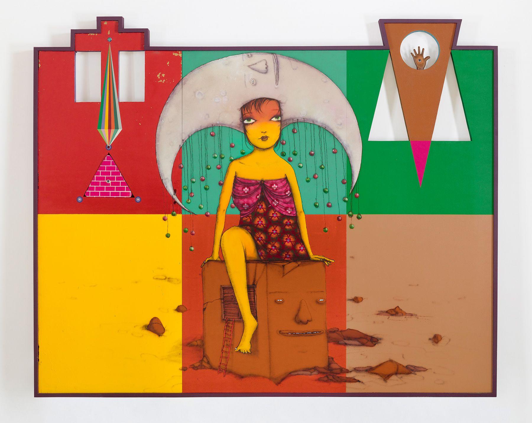 OSGEMEOS, A caixa de música (The music box), 2015