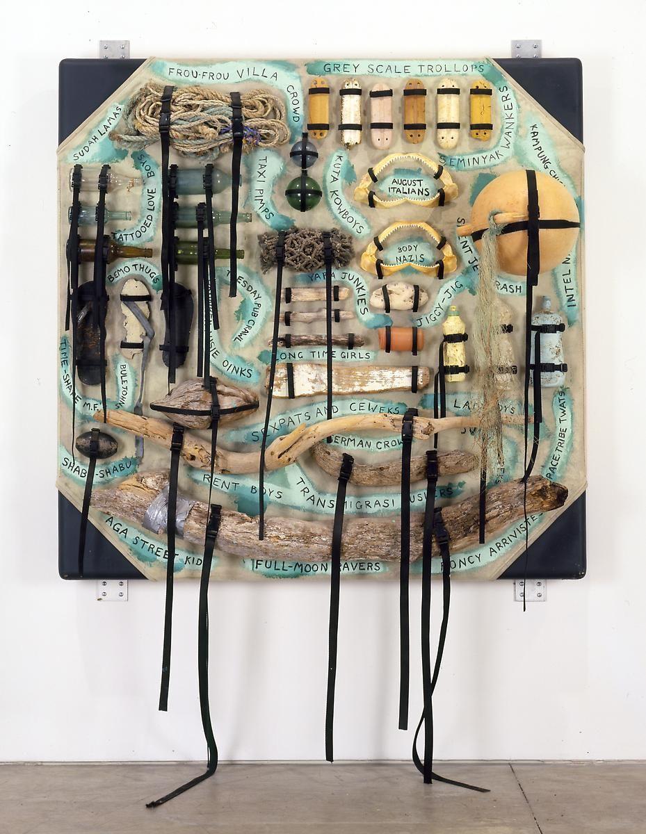 """阿什莉·æ¯""""å…‹é"""" Rat Island Painting, 1993"""