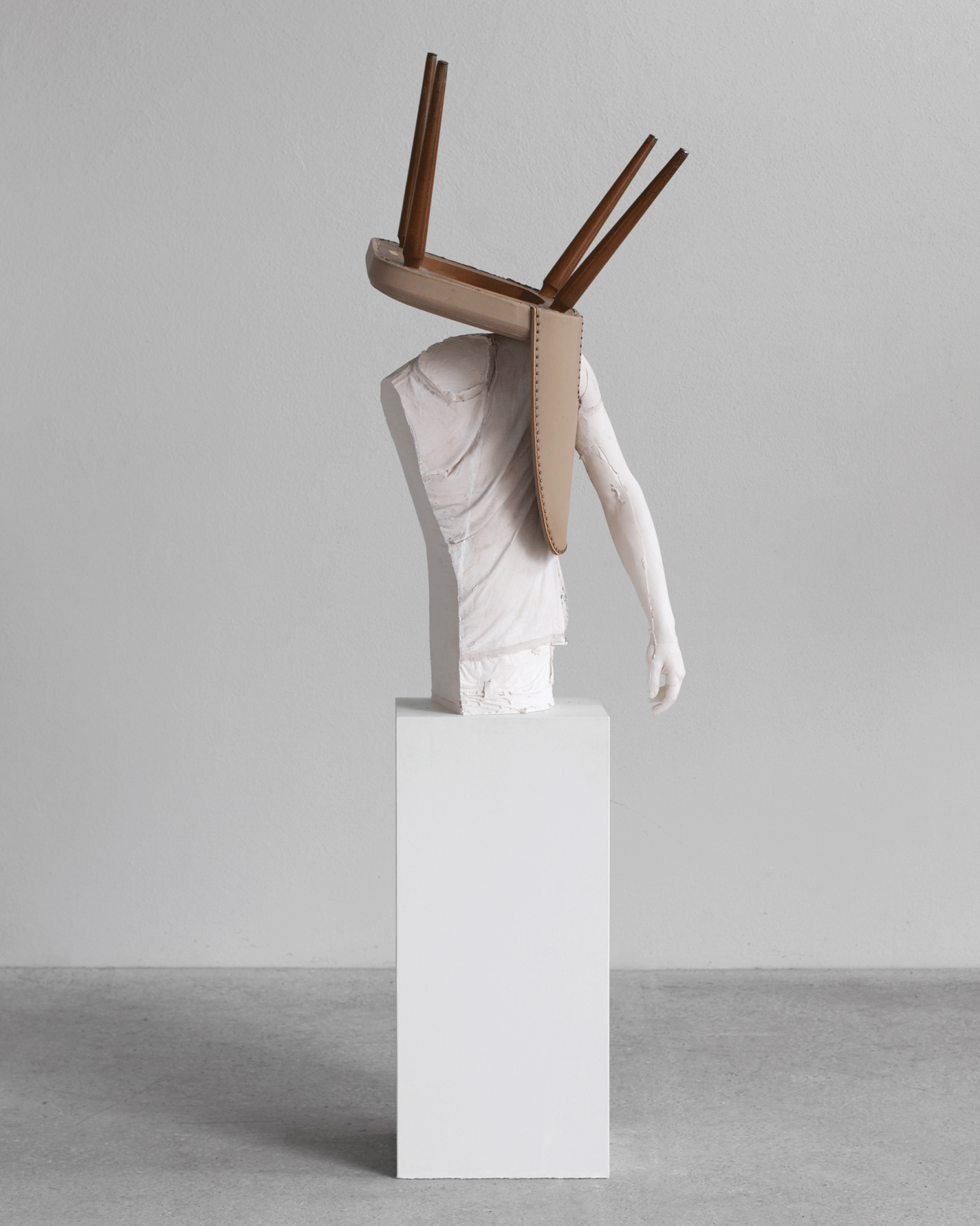 ERWIN WURM, Untitled (with chair) (One Minute Forever), 2019