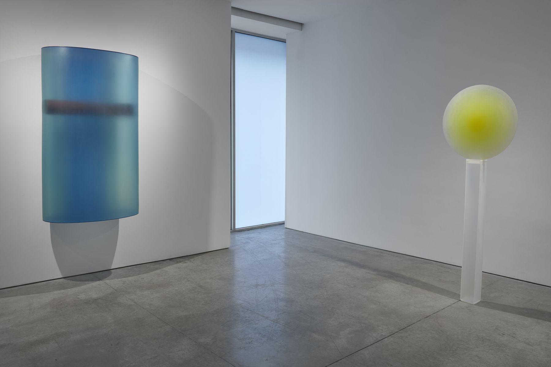 Installation view, Lehmann Maupin, New York, 2019, Photo by Matthew Herrmann