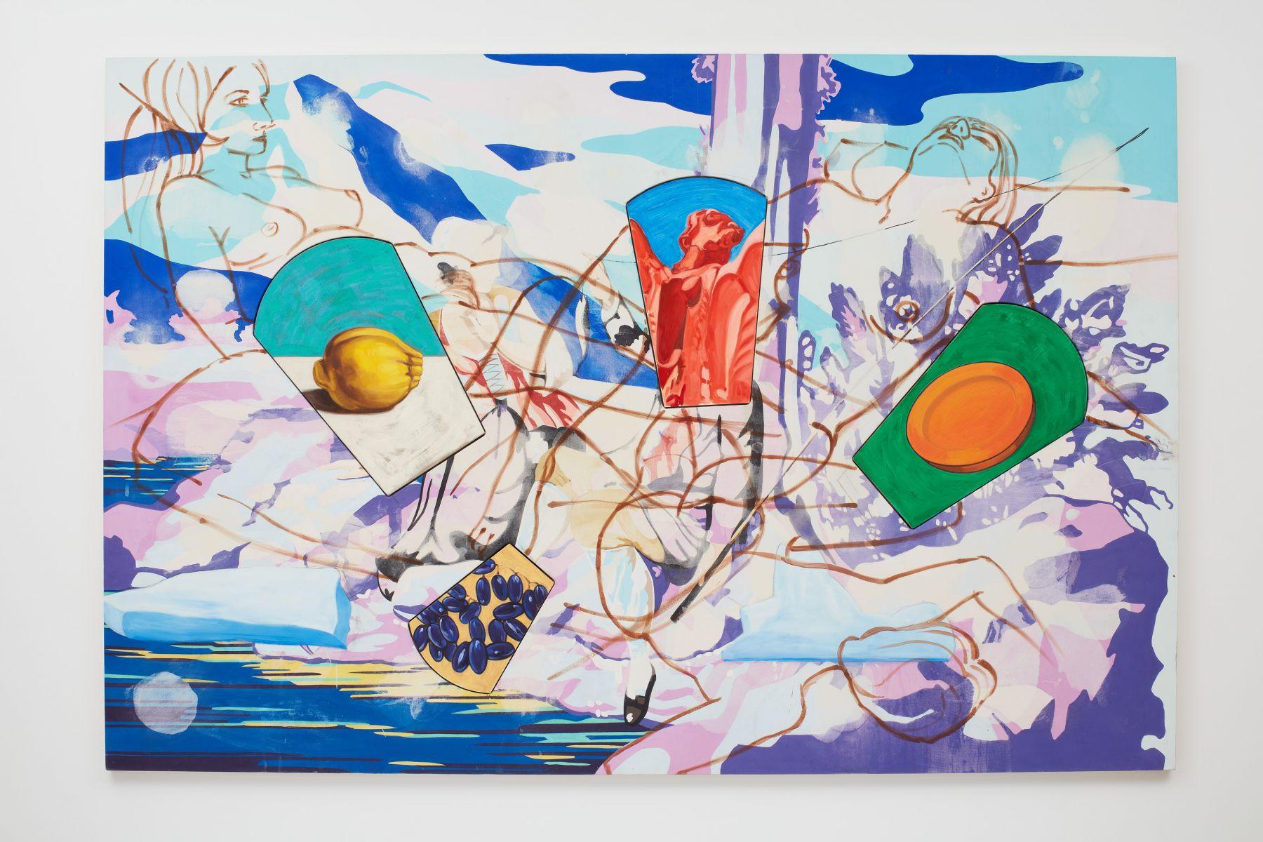 DAVID SALLE Ice Flow II, 2001