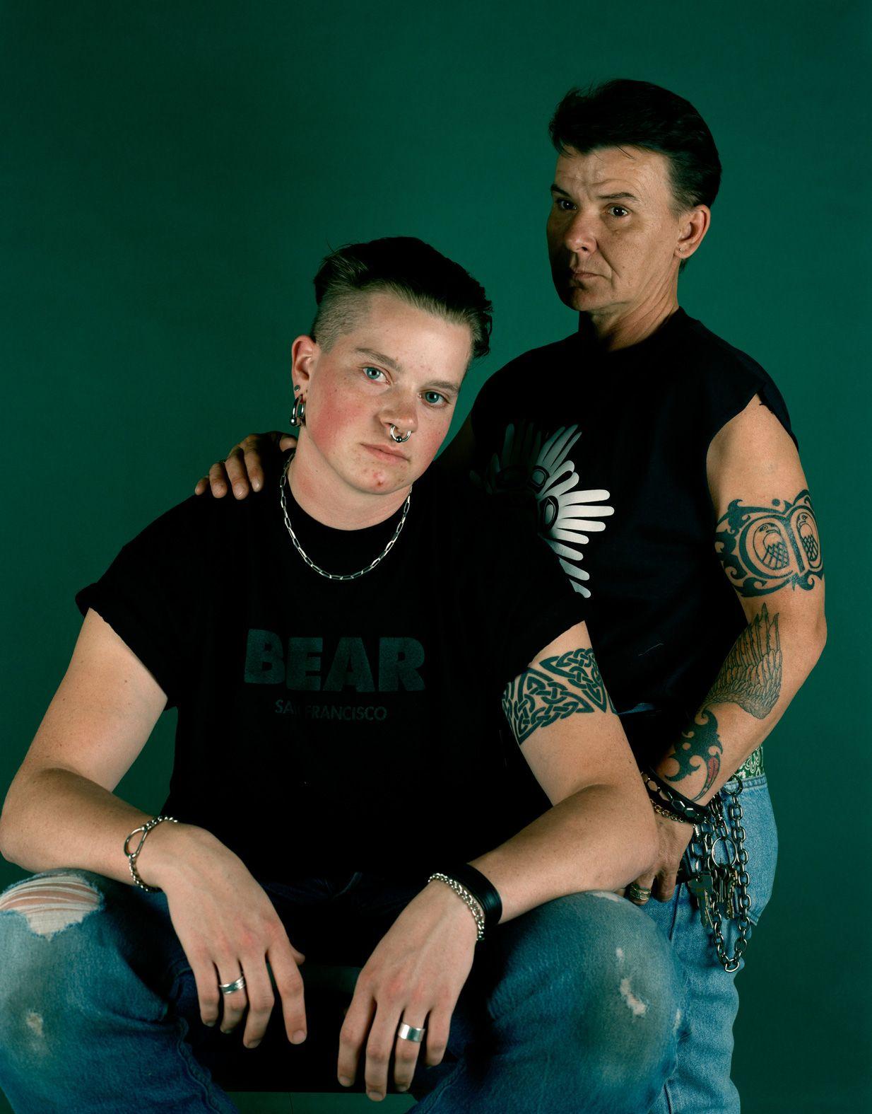 CATHERINE OPIE, Matt and Jo, 1993