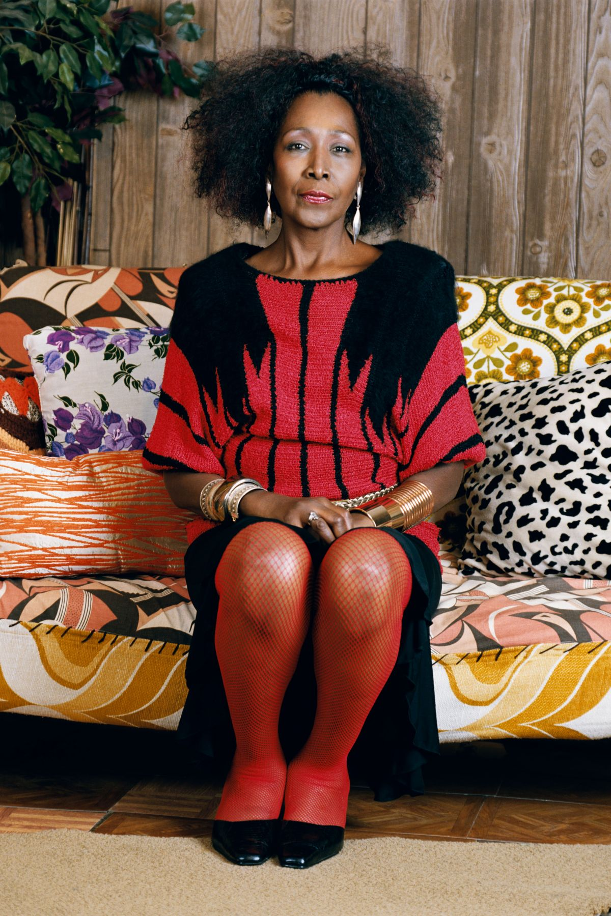 MICKALENE THOMAS Sandra: She's a beauty, 2009