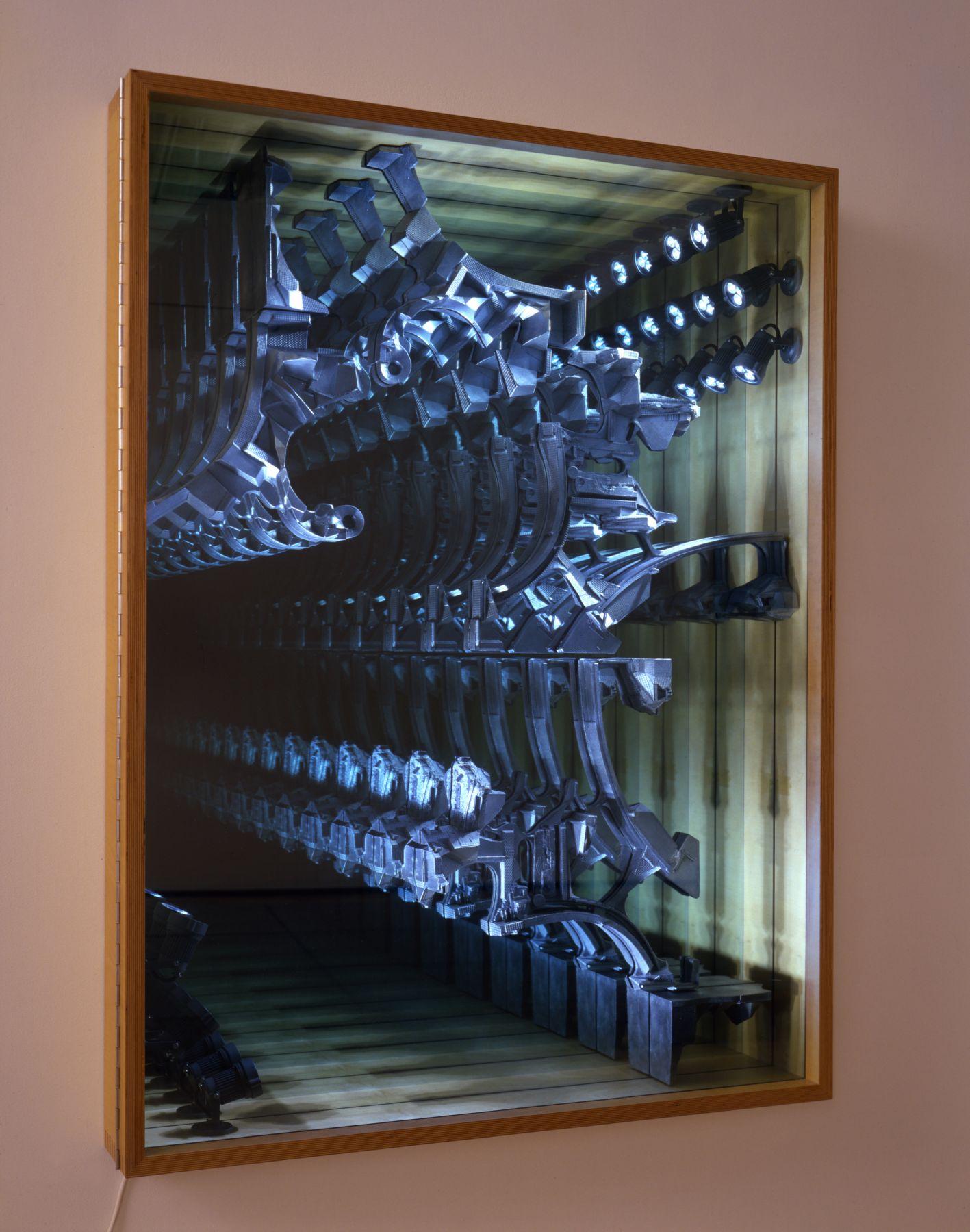 LEE BUL Untitled (Infinity wall), 2008