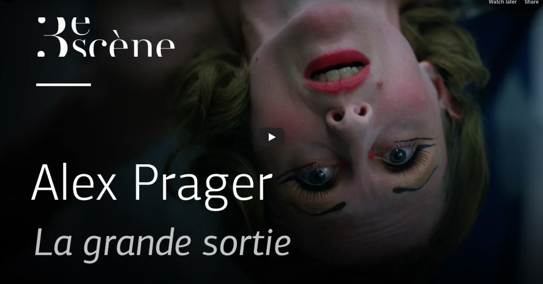 ALEX PRAGER La Grande Sortie, 2015