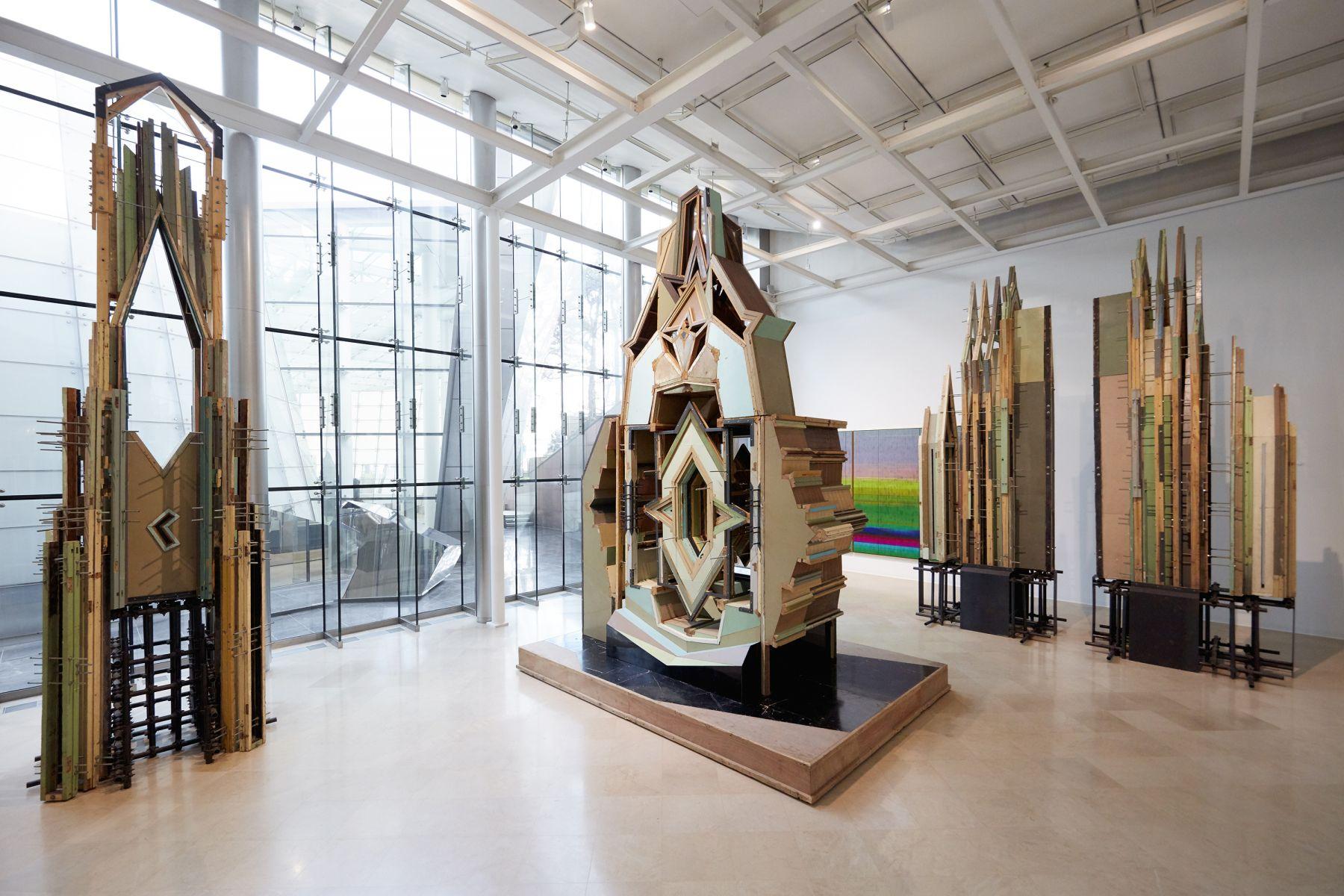 Liu Wei,Panorama, Installation view,PLATEAU Samsung Museum of Art, Seoul