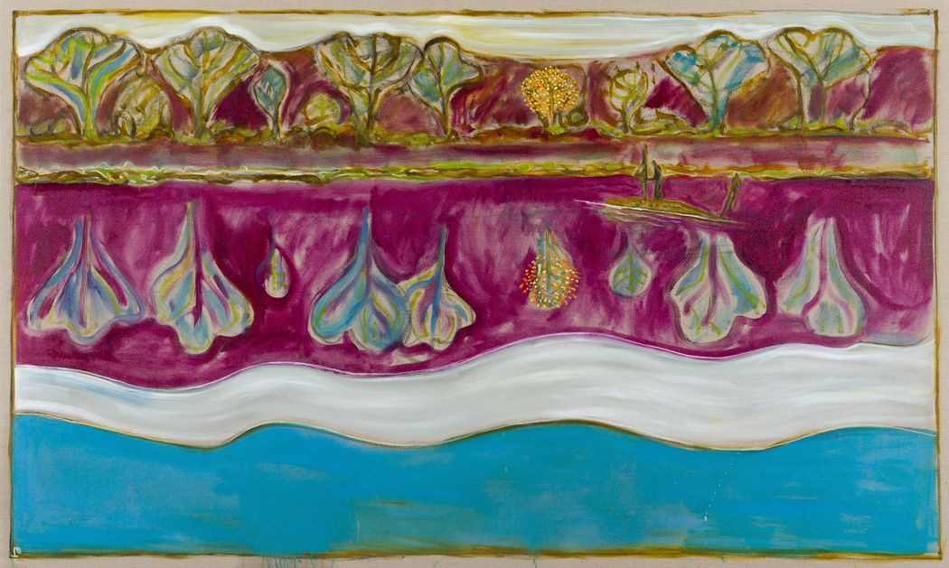 BILLY CHILDISH, this strange world of plants, and water, and silence, 2012