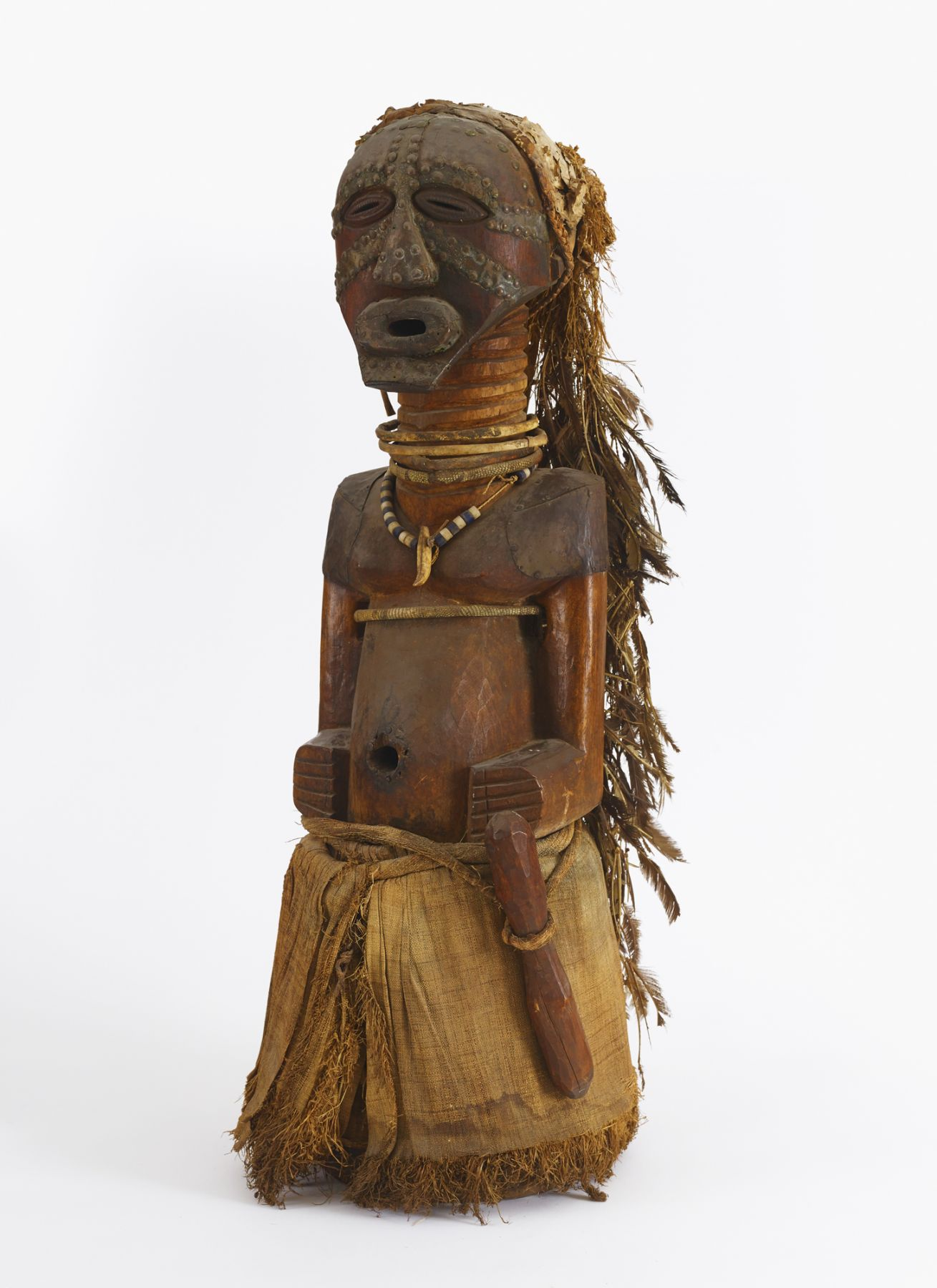 Songye Community Power Figure by the Master of the Rubinstein Songye, Democratic Republic of the Congo