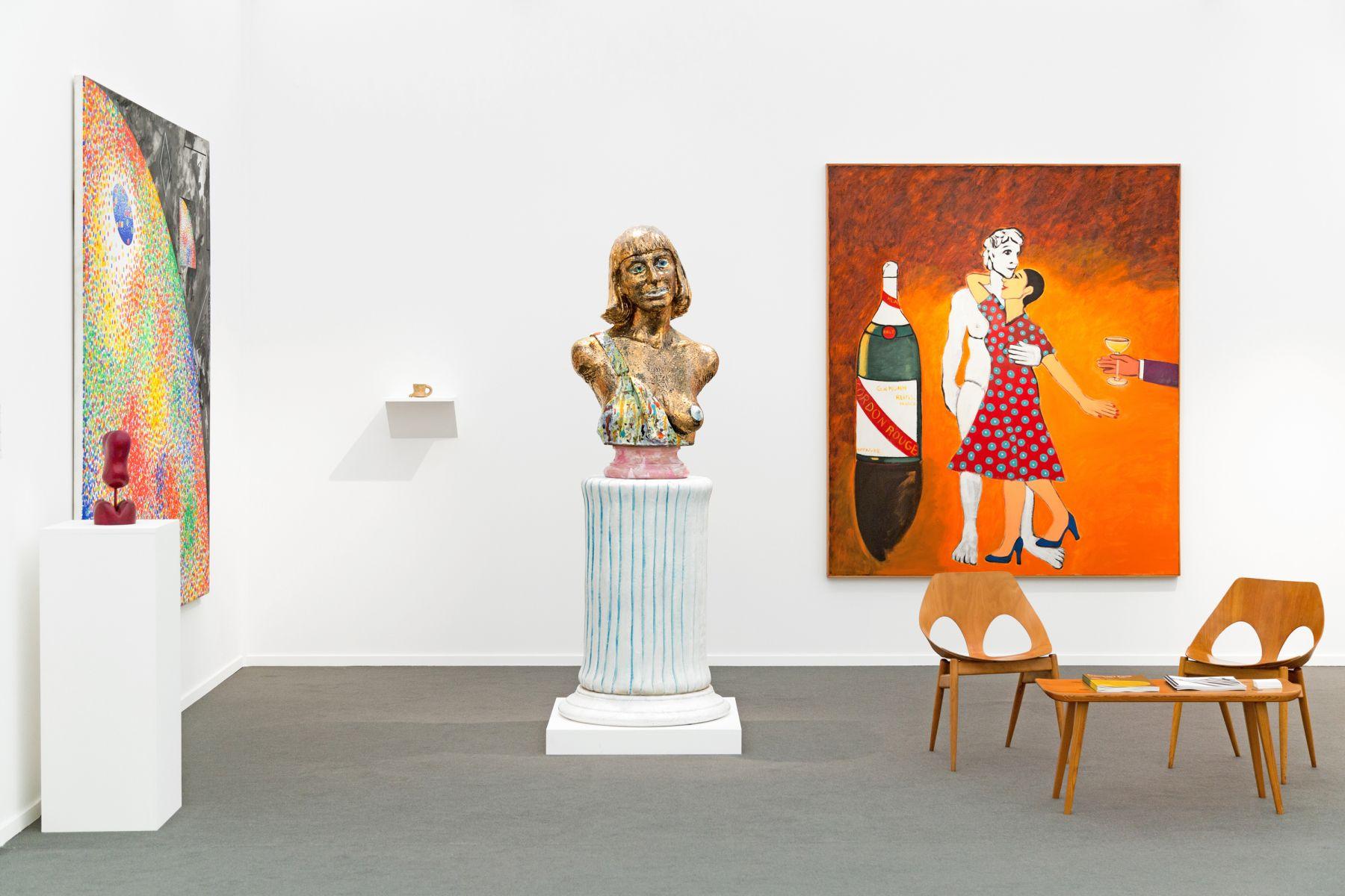 Installation view of Frumkin's Funk, Frieze Masters, London, 2018