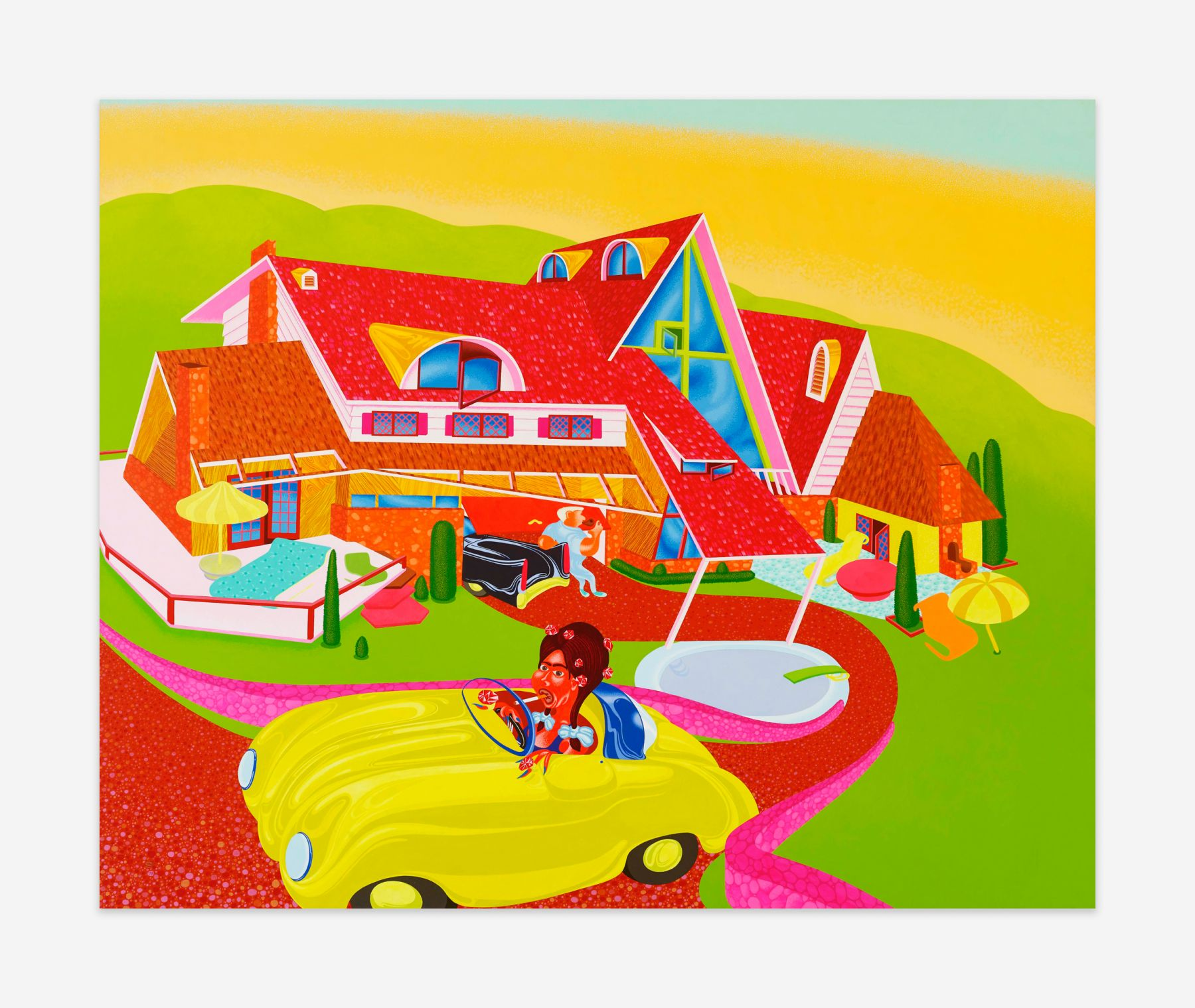 Peter Saul Untitled, 1973