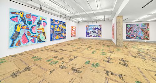 Installation view at Venus Over Manhattan
