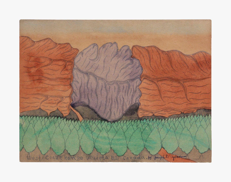 Joseph Elmer Yoakum West Coast Range Alberta B.C. Canada, c. 1960s