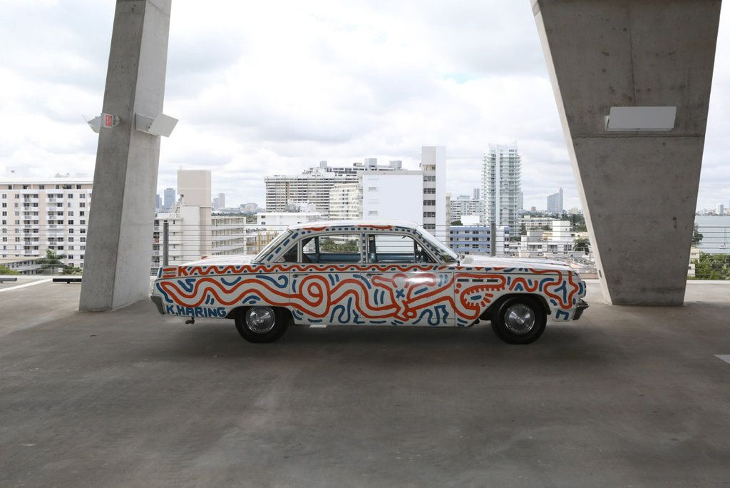 Untitled (Car) by Keith Haring