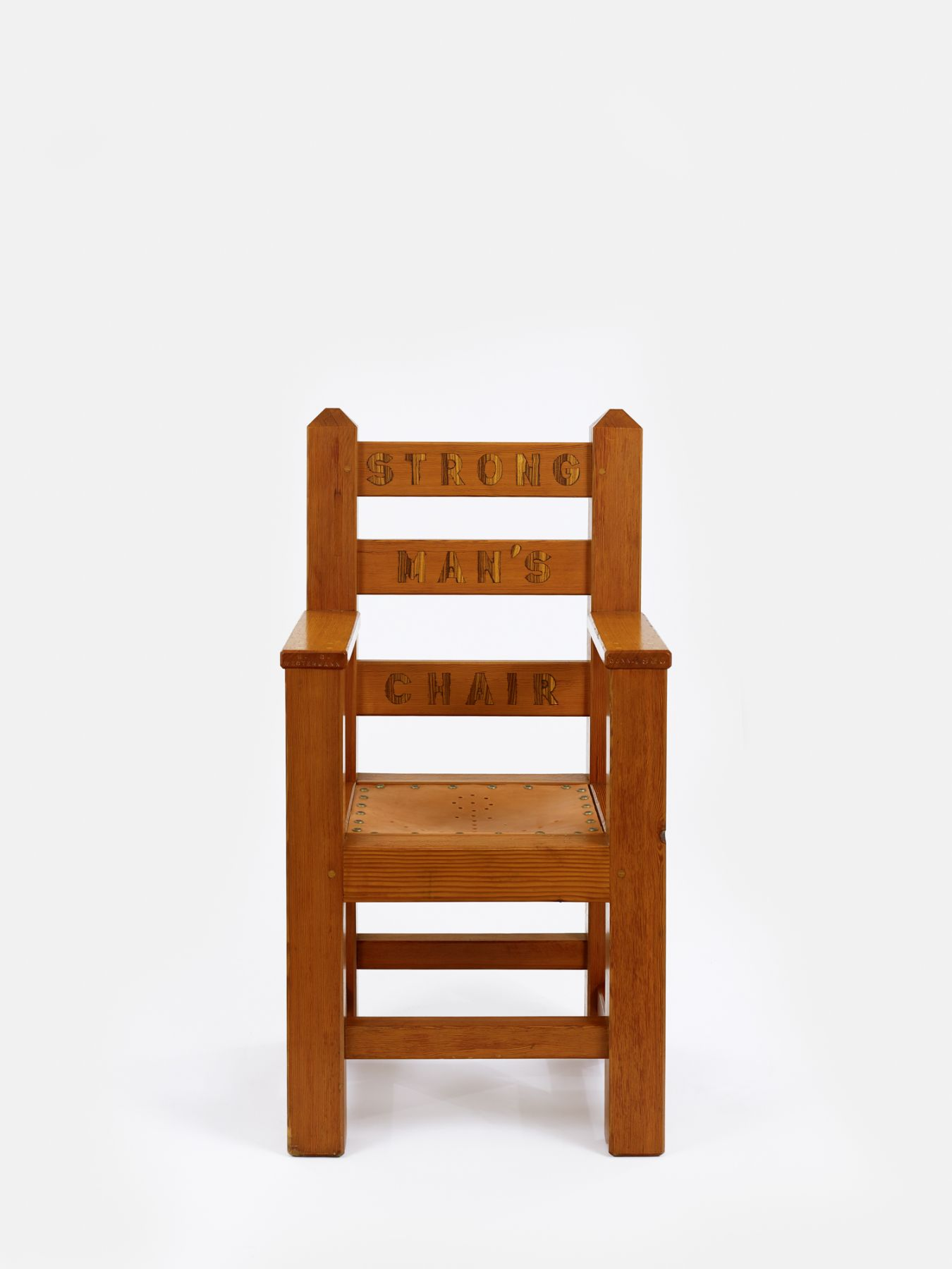H.C. Westermann Strong Man's Chair, 1970