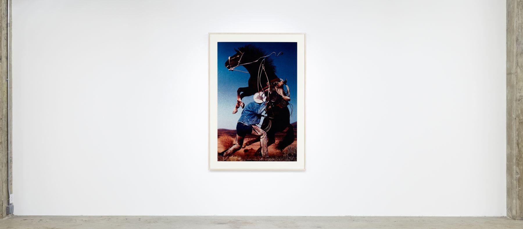 #RAWHIDE Richard Prince Untitled (Cowboy) (Rearing Horse)