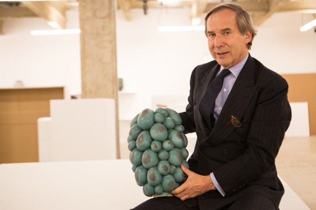 Simon de Pury at Venus Over Manhattan.,