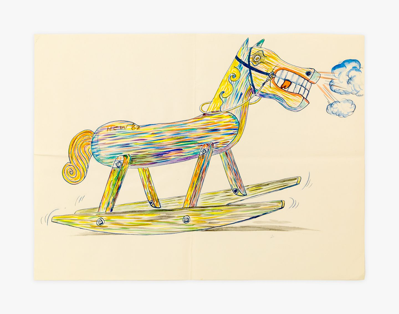 H.C. Westermann Rocking Horse, 1962