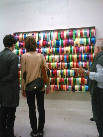 Peter Coffin, Untitled (Ribbons) (2012)