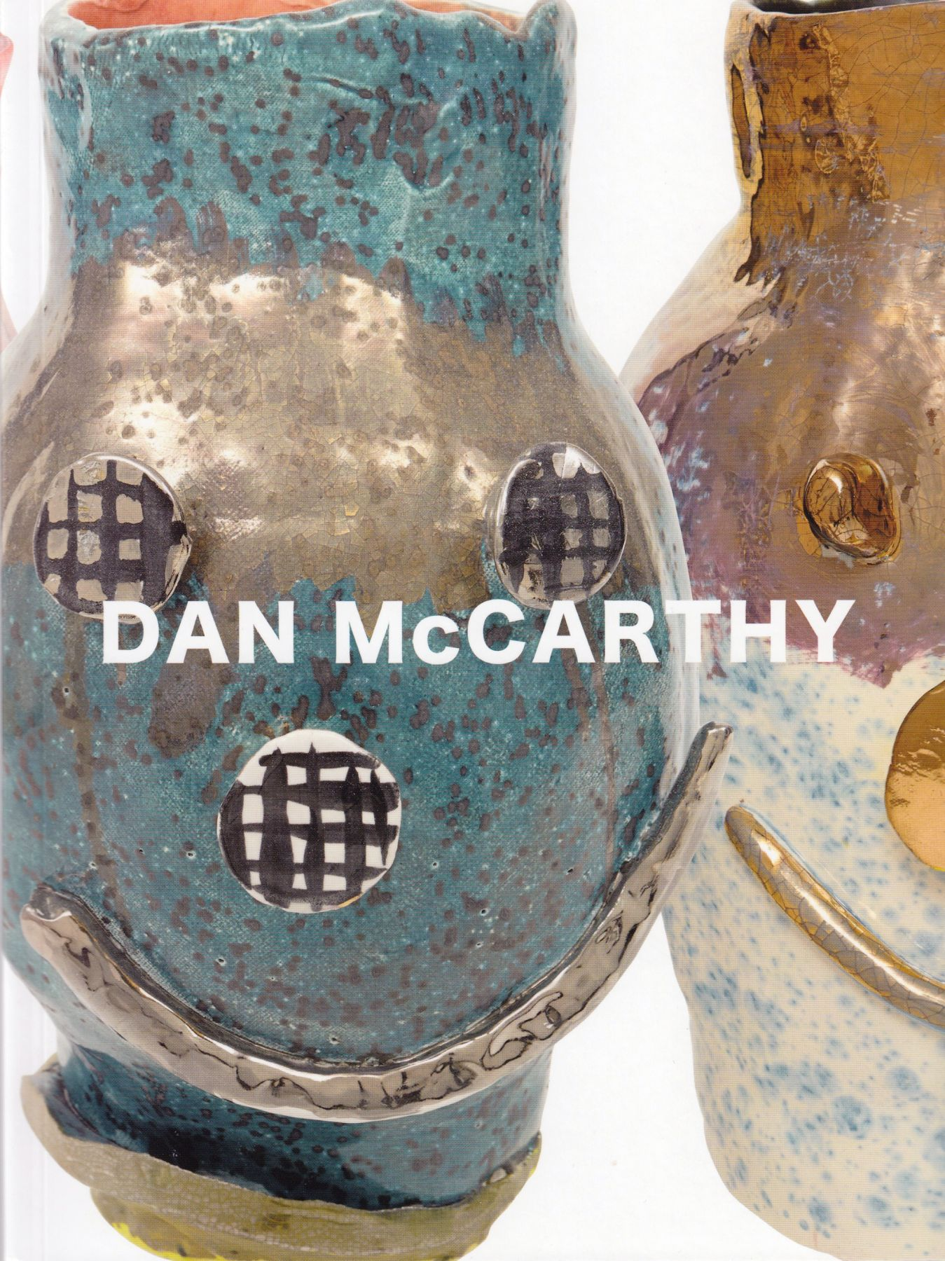 Cover image of Dan McCarthy: Facepots, published by Hassla Books, New York, 2015