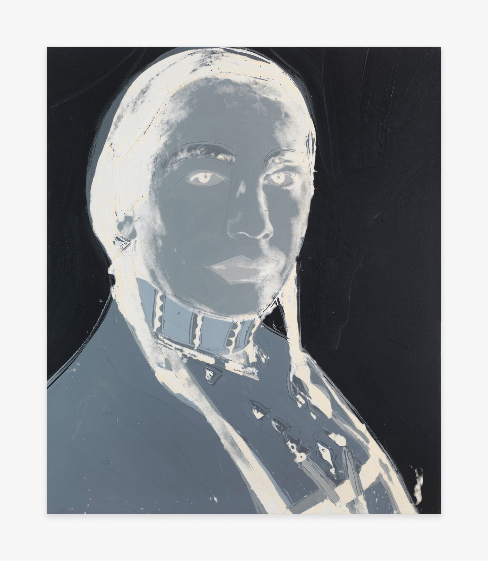 Andy Warhol An American Indian (Russell Means)