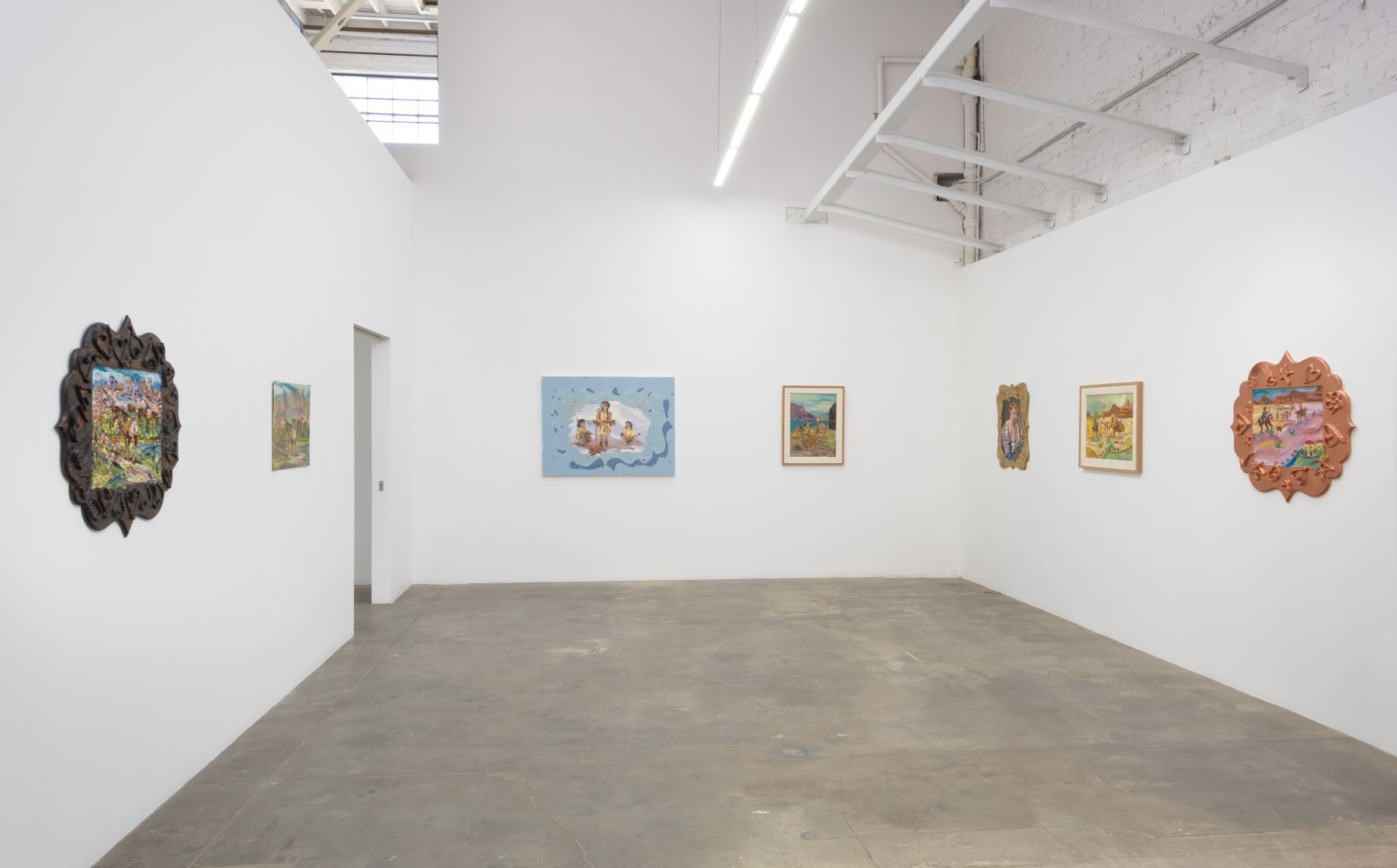 Installation view of Fort Greene, Los Angeles, Venus Over Los Angeles, 2016