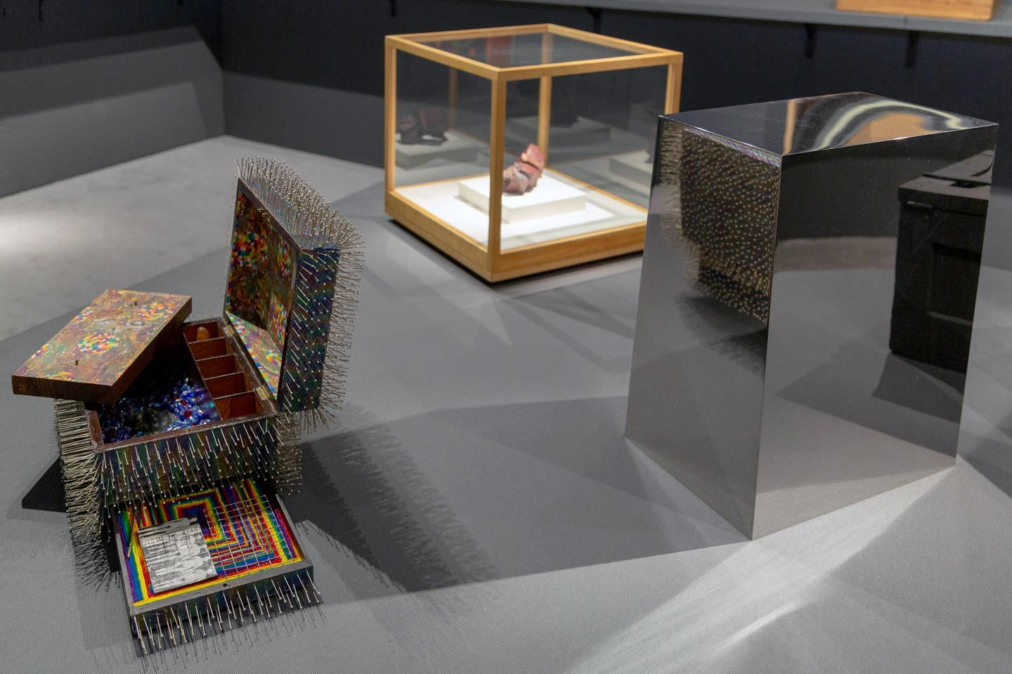 Installation view of Boxes, The Art Show, 2019