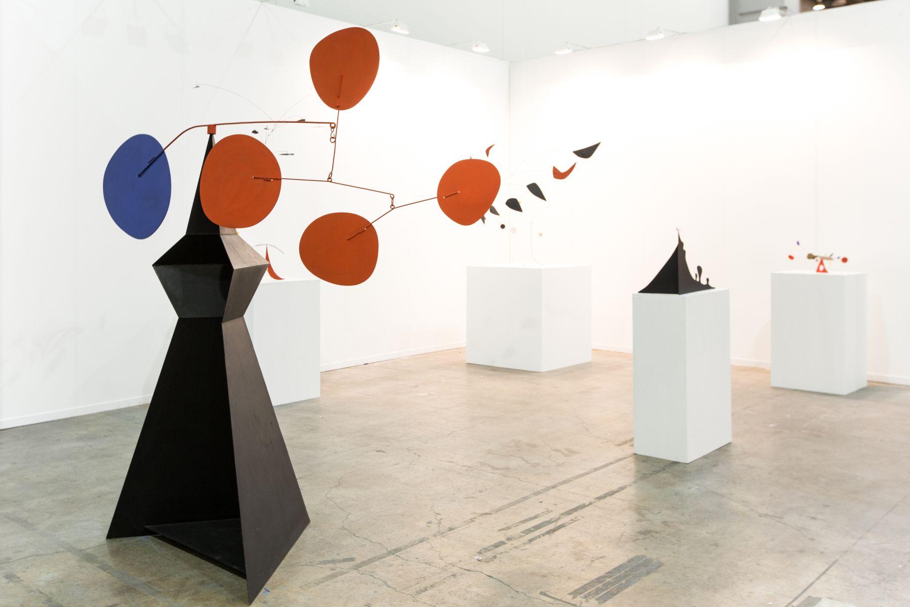 Installation view of Alexander Calder at Zona Maco, Mexico City, 2016
